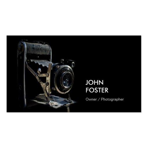 Antique Vintage Camera Store - Photographer Business Card Templates