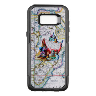 Antique Vintage Map of Africa OtterBox Commuter Samsung Galaxy S8+ Case