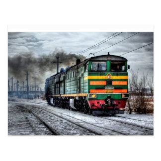 Antique Vintage Train or Locomotive Postcard
