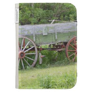Antique Wagon Kindle Keyboard Case