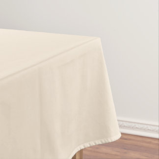 Antique White and Antique Brass Gradient Colors Tablecloth
