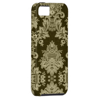 Antique White Traditional Linen & Lace iPhone 5 Covers