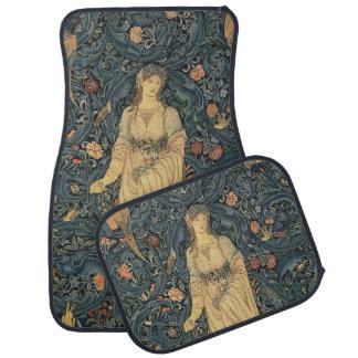 Antique William Morris Floor Mat