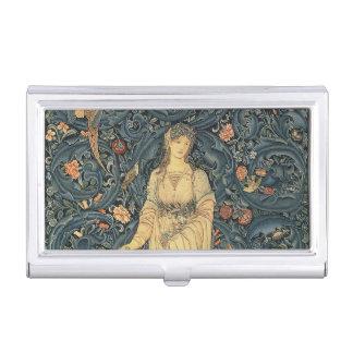Antique William Morris Flora Business Card Holder