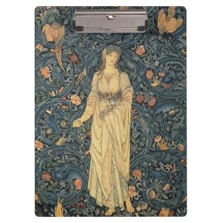 Antique William Morris Flora Clipboard