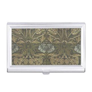 Antique William Morris Victorian Floral Flowers Business Card Cases