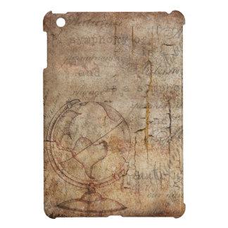 Antique World Globe Rustic Brown, Apple Mini Case iPad Mini Covers