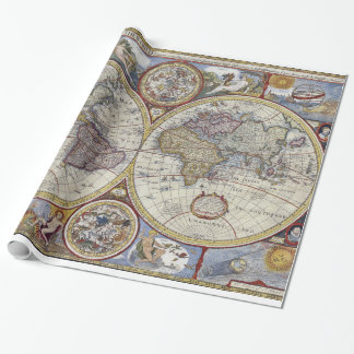 Antique World Map #3