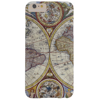 Antique World Map #3 Barely There iPhone 6 Plus Case