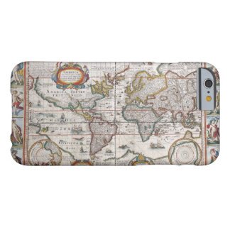 Antique World Map cases Barely There iPhone 6 Case