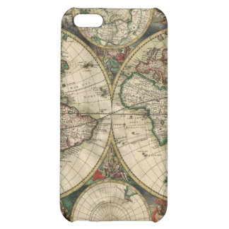 Antique World Map iPhone4 Skin iPhone 5C Covers