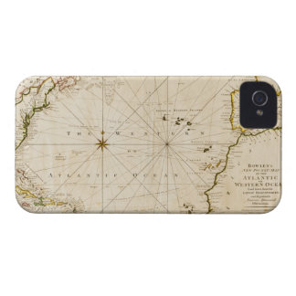 Antique world map iPhone 4 case