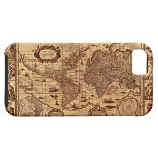Antique World Map iPhone 5 Case