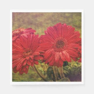 Antiqued Garden Paper Napkins