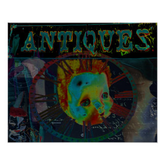 Antiques Print by Violet Tantrum