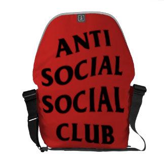 ANTISOCIAL CLUB BAG COURIER BAG