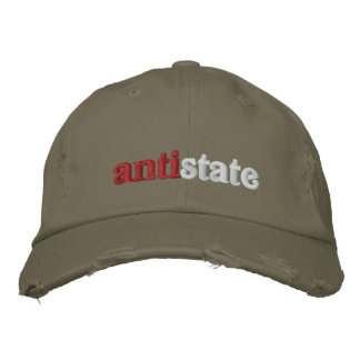 Antistate Embroidered Hat
