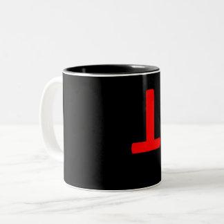 antitrump Two-Tone coffee mug