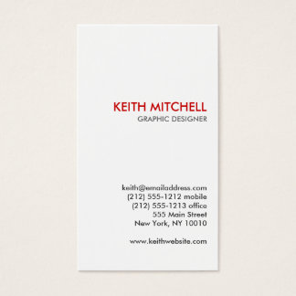 ANTLERS Business Card