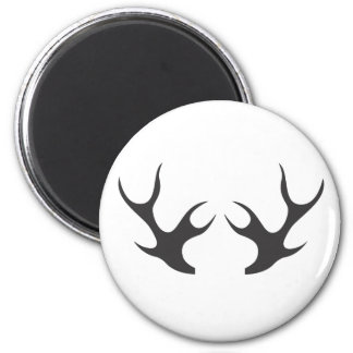 Antlers Country Fridge Magnet