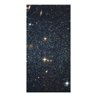 Antlia Dwarf galaxy Personalized Photo Card