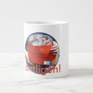 Äntligen pensionär coffee large coffee mug