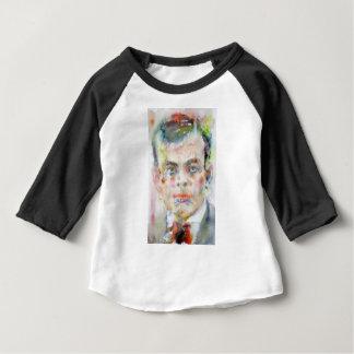 antoine de saint exupery - watercolor portrait baby T-Shirt