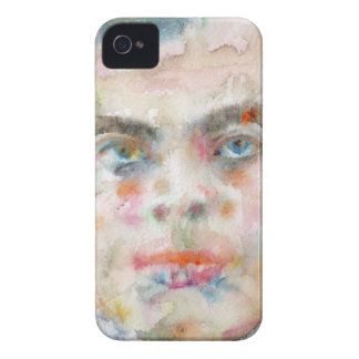 antoine de saint exupery - watercolor portrait iPhone 4 cover