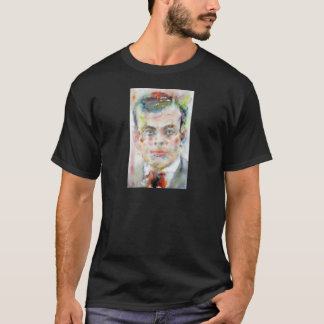 antoine de saint exupery - watercolor portrait T-Shirt