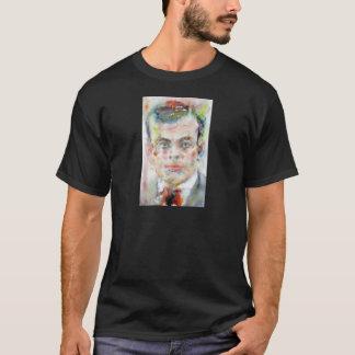 antoine de saint exupery - watercolor portrait T-Shirt