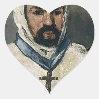 Antoine Dominique Sauveur Aubert Heart Sticker