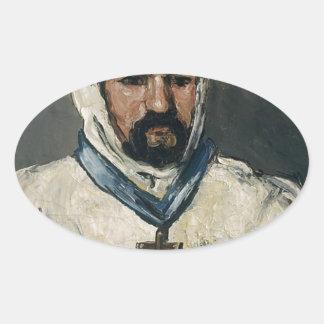Antoine Dominique Sauveur Aubert Oval Sticker