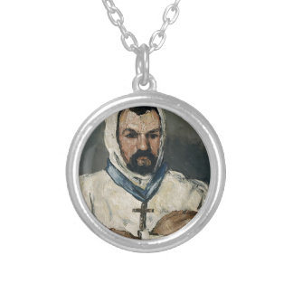 Antoine Dominique Sauveur Aubert Silver Plated Necklace