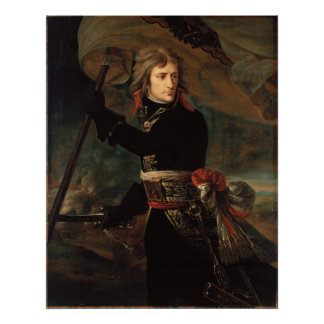 Antoine-Jean Gros Bonaparte at the pont d'Arcole Poster
