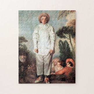 ANTOINE WATTEAU - Pierrot (Gilles) 1718 Jigsaw Puzzle