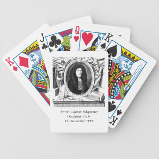 Anton Cajetan Adlgasser Bicycle Playing Cards