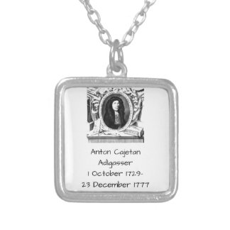 Anton Cajetan Adlgasser Silver Plated Necklace