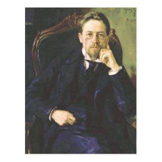 Anton Chekhov 1898 Postcard