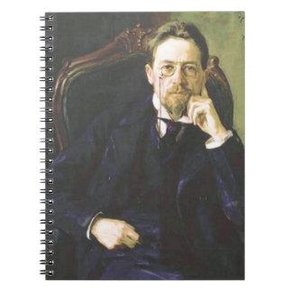 Anton Chekhov 1898 Spiral Notebook