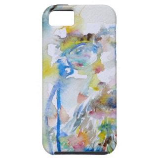 anton chekhov - watercolor portrait.1 case for the iPhone 5