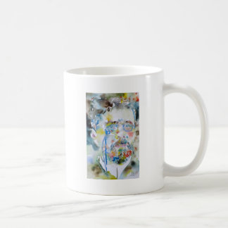 anton chekhov - watercolor portrait.1 coffee mug