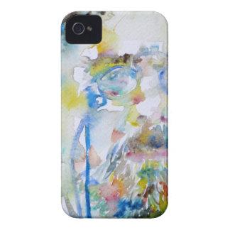 anton chekhov - watercolor portrait.1 iPhone 4 Case-Mate case