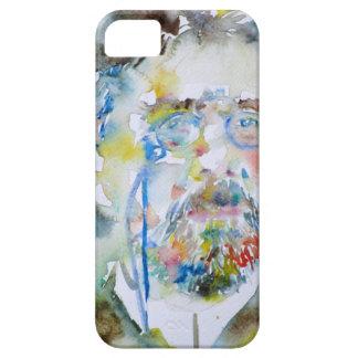 anton chekhov - watercolor portrait.1 iPhone 5 cover