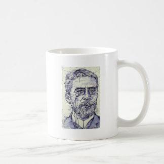 anton chekhov - watercolor portrait.2 coffee mug