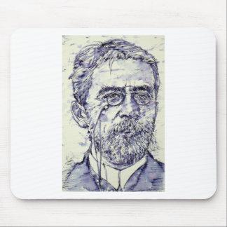 anton chekhov - watercolor portrait.2 mouse pad
