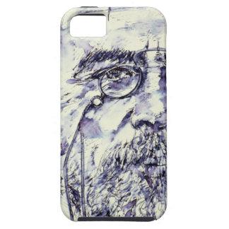 anton chekhov - watercolor portrait.2 tough iPhone 5 case