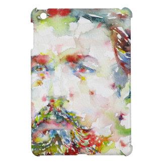 anton chekhov - watercolor portrait.3 iPad mini cover