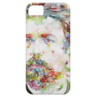 anton chekhov - watercolor portrait.3 iPhone 5 case