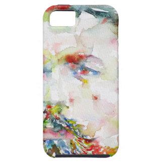 anton chekhov - watercolor portrait.3 iPhone 5 cover