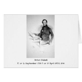 Anton Diabelli Card